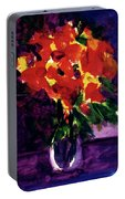 Fantasy Flowers  #107, Portable Battery Charger