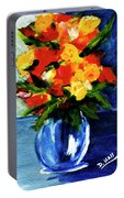 Fantasy Flowers #117 Portable Battery Charger