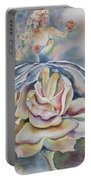 Fantasy Rose Portable Battery Charger