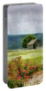 Farm - Barn - Out In The Country  Portable Battery Charger