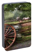 Farm - Horse - Grey Mare Portable Battery Charger