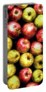 Farm Apples Portable Battery Charger