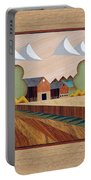 Farm By Ripon-marquetry Portable Battery Charger