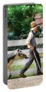 Farm - Cow -the Farmer And The Dell  Portable Battery Charger