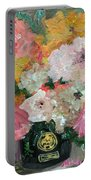 Farm Flowers Portable Battery Charger
