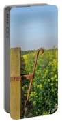 Farm Gate Latch Portable Battery Charger