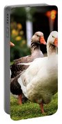 Farm Geese Portable Battery Charger
