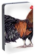 Farm Rooster Portable Battery Charger
