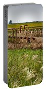 Farm Work Wiind And Rain Portable Battery Charger