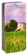 Farmhouse In Tuscany Portable Battery Charger