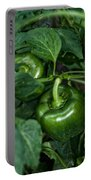 Farming Green Peppers Portable Battery Charger