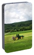 Farming New York State Before The July Storm 03 Portable Battery Charger