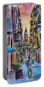 Fascinating Palermo Sicily Italy Street Scene Portable Battery Charger