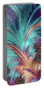 Feather Abstract Portable Battery Charger
