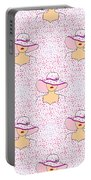 Fashion Pattern Portable Battery Charger