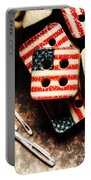 Fashioning A Usa Design Portable Battery Charger