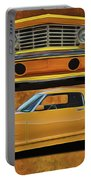 Fast Yellow Portable Battery Charger