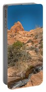 Faux Falls Trail Portable Battery Charger