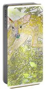 Fawn Twins Digital Painting Portable Battery Charger