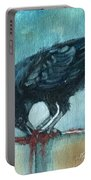 Feasting Raven Portable Battery Charger