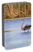 Feather Dance Portable Battery Charger