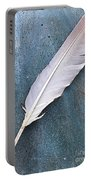 Feather Of A Dove Portable Battery Charger