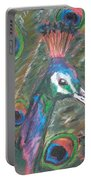 Feathered Splendor Portable Battery Charger
