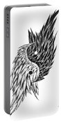 Feathered Ying Yang  Portable Battery Charger