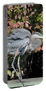 Feathers Ruffled Portable Battery Charger