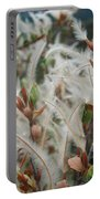 Feathery Styles Of Mountain Mahogany  Portable Battery Charger