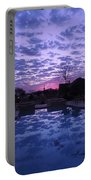 February Flocked Sky Portable Battery Charger