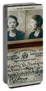 Federal Prohibition Agent Daisy Simpson 1921 Portable Battery Charger