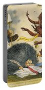 Federalist Cartoon, C1799 Portable Battery Charger
