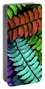 Feel The Fern Portable Battery Charger by Jessica Manelis