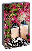 Feet Around The World #18 Portable Battery Charger