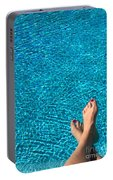Feet Around The World #19 Portable Battery Charger