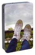 Feet Around The World #20 Portable Battery Charger