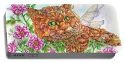 Feline Fairy Portable Battery Charger