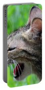 Aggressive Cat Portable Battery Charger