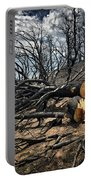 Felled After The Wildfire Portable Battery Charger