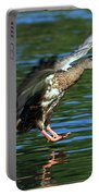Female Duck Landing Portable Battery Charger