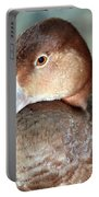 Female Redhead Duck Portable Battery Charger