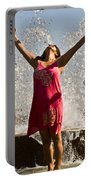 Femme Fountain Portable Battery Charger by Al Powell Photography USA