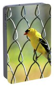 Fence And Feathers Portable Battery Charger
