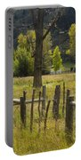 Fence Posts Portable Battery Charger
