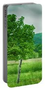 Fence Row And Tree Portable Battery Charger