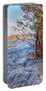 Fenced Autumn Portable Battery Charger