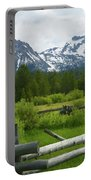 Fenced In Sawtooths Portable Battery Charger