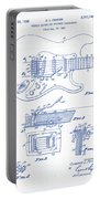 Fender Guitar Patent Drawing Portable Battery Charger