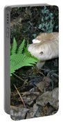 Fern And Mushroom Portable Battery Charger